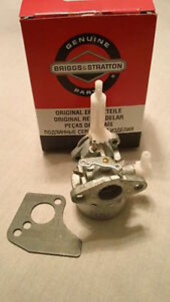 NEW 699103 Briggs and Stratton snowblower carburetor carb